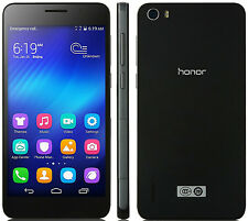 "HUAWEI HONOR 6 black 3gb/16gb octa core 1.7ghz 5.0"" screen android 4g Smartphone"