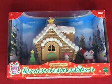 Sylvanian Families BABY SANTA MARSHMALLOW & CANDY HOUSE Christmas