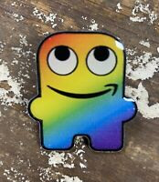 Glamazon Amazon Rainbow Pride Peccy Pin NEW!  Amazonian!  Be Peculiar! FREE SHIP