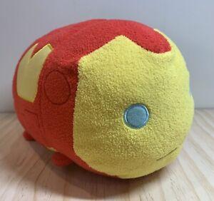 "Disney Store Marvel Iron Man Large Tsum Tsum 10"" Plush Stuffed Toy Pillow *READ*"