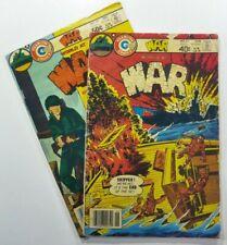CHARLTON Comics WORLD AT WAR (1980) #21 24 Bronze Age ARMY LOT Ships FREE!