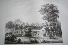 NAPOLEON ARCHIDUC CHARLES STAMERSDORFF  GRAVURE 1838 VERSAILLES R1104 IN FOLIO