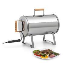 Affumicatore Professionale Elettrico Barbecue Giardino 1100W Inox Legna Carne