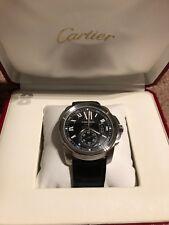 Cartier Calibre W7100041  MINT Condition BOX included. 3389