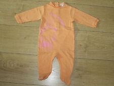 Pyjama jersey 9 mois orange