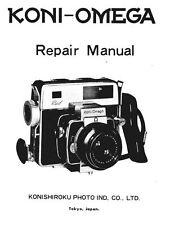 Koni Omega Rapid Factory Service Manual on CD