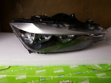 Headlight BMW 3 SERIES 2013 Drivers Headlamp 7259540 Genuine