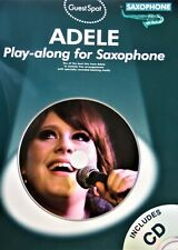 ADELE Play-along for Saxophone mit CD