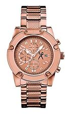 NEW MARC ECKO ROSE GOLD TONE,STAINLESS STEEL,CHRONOGRAPH MEN'S WATCH M22510G1