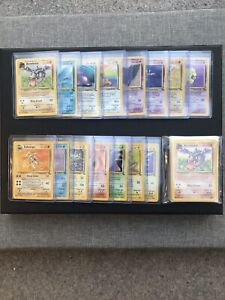 Complete Fossil Set 62/62 Pokemon Cards WOTC *99p No Reserve*