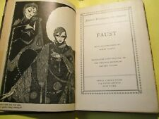 Faust by Goethe w/ Illustrations by Clarke, translated by Bayard Taylor Antique