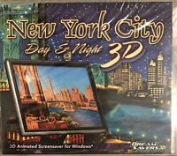 New York City Day & Night 3D Screensaver Pc New XP Animated Sights Of The City