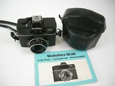 Rolleiflex SL 26 SLR Film Camera w/ Tessar 40mm f2.8 Carl Zeiss lens in EC, SL26
