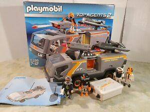 Playmobil 5286 Top Agents Kampfwagen Raketen Action mit OVP Abenteuer Space