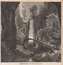 1876 Sorrento xilografia Lindemann-Frommel