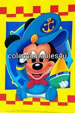 POSTER mickey donald disney sailor   11x16