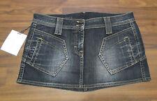 FREESOUL Dank Jeansrock Weite 28 29 Gr. M 38 dunkelblau Jeans Rock Mini blau NEU