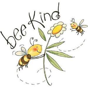 Bee Kind   Inspirational Bee   Tshirt    Sizes