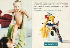 Publicité Advertising 1997 (Double page)  LA REDOUTE vente par correspondance .