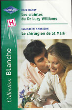 HARLEQUIN. COLLECTION BLANCHE. KATE HARDY. ELIZABETH HARRISON . BON ETAT.