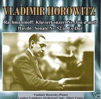 CD Vladimir Horowitz Klavierkonzert Nr.3 Rachmaninoff