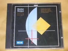 CD RARE / STEFAN WOLPE / QUARTETS CANTATA / NEUF SOUS CELLO