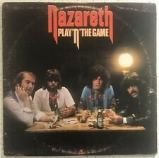 Nazareth Play 'N' The Game - 1976 Vinyl LP A&M Records SP 4610 Canadian Press