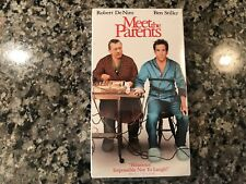 Meet The Parents New Sealed Vhs! 2001 Comedy! (See) Problem Child & Home Alone