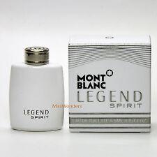 Mont Blanc LEGEND SPIRIT Eau de Toilette 0.15 Oz 4.5 ml Mini Perfume Miniature