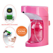 500ml Automatic Sensor Foam Soap Dispenser Smart Touchless Bathroom Kitchen Pump