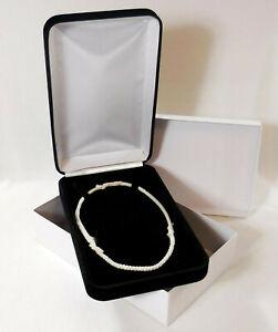Presentation Box Black Box Necklace Box Jewels by Rio Antique Jewelry Box Gift Box Collectable Jewelry Box