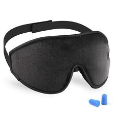 """Blindfold Mask ''Absolute"""" Contoured Memory Foam Sleeping/Meditaion"""