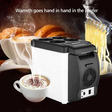 6L Mini COOLER & WARMER Car Refrigerator Freezer Fridge Hot and Cold Double Use