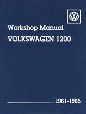 EMPI VW BUG TYPE 1 1961- 1965 BENTLEY TECHNICAL MANUAL BOOK   11-0601