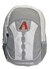 Mlb Arizona Diamonbacks Gray Team Backpack 17.5 inch