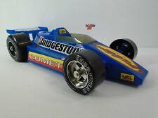 Bridgestone Tire Comet IndyCar Race Car Blue Plastic Gay Toys #810 Indy 500