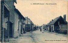 CPA  Proyart (Somme) - Rue de Framerville      (295424)