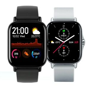 GTS 2 Smartwatch Men Bluetooth Call 1.72inch Full Touch Fitness Tracker