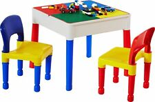 Liberty Construction Multi-Purpose Activity Table & 2 Chairs