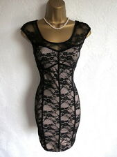 Brand new Jane Norman lace bodycon dress size 10 8