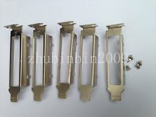 Lots of 5 pcs Low Profile Bracket for Intel EXPI9404PTL HP NC364Tnetwork adapter