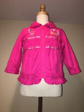 oilily Magenta Pink Light Jacket baby Girls Sz. 86-1-1.5 Years Old