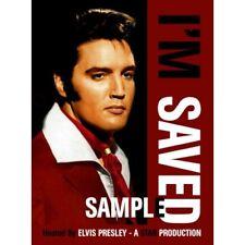 ELVIS PRESLEY - I'M SAVED – HOSTED BY ELVIS PRESLEY - Digipack NEW DVD  RARE