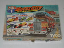 VINTAGE TYCO US-1 MOTOR CITY TRUCKING ELECTRIC RACE SET COMPLETE IN BOX