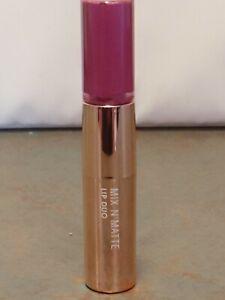 """Flower Beauty """"VIOLET VIXEN"""" LD5 Mix N Matte Lip Duo-Lipstick/Gloss"""
