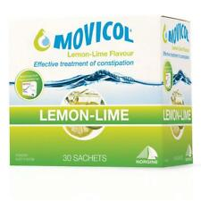 BRAND NEW MOVICOL LEMON LIME EFFECTIVE RELIEF LAXATIVE 30 SACHETS POWDER