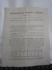 Document reception technique automobile Ariès + récépissé mairie Joinville  1914