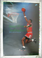 NITF UNTRIMMED NIKE Poster ☆ Beam Me Up Scottie Pippen ☆ Chicago Bulls Star Trek