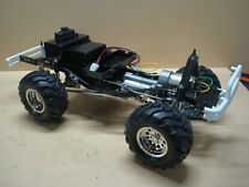 SHELF QUEEN TAMIYA 4X4 PICKUP BRUISER RE RLEASE 58519 COMPLETED CHASSIS + ESC