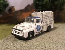 1956 Ford Service Truck Rusty Weathered Barn Find Custom 1/64 Diecast Pan Am M2